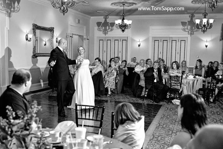 New Bern Wedding Reception Photo